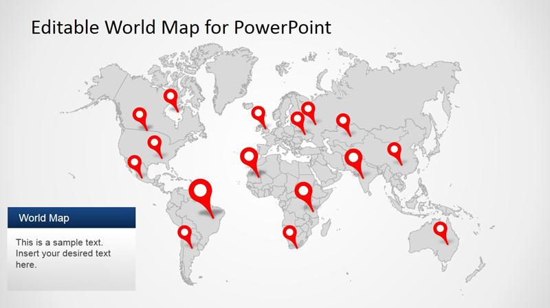 Editable Presentation maps