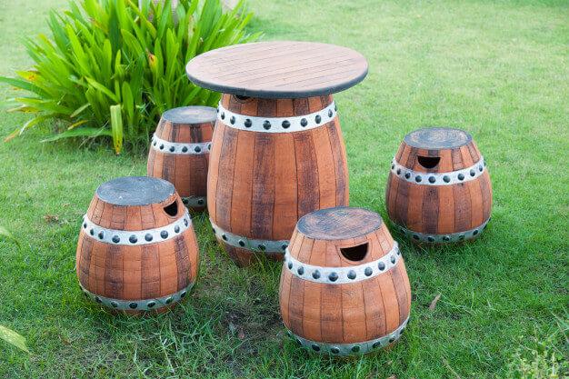 patio furniture made