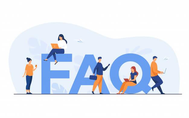 Traditional FAQ Page