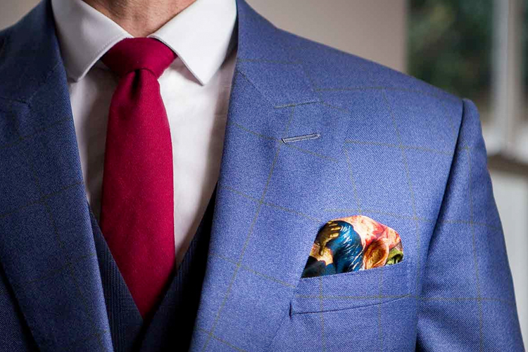 Pocket Squares look wonderful