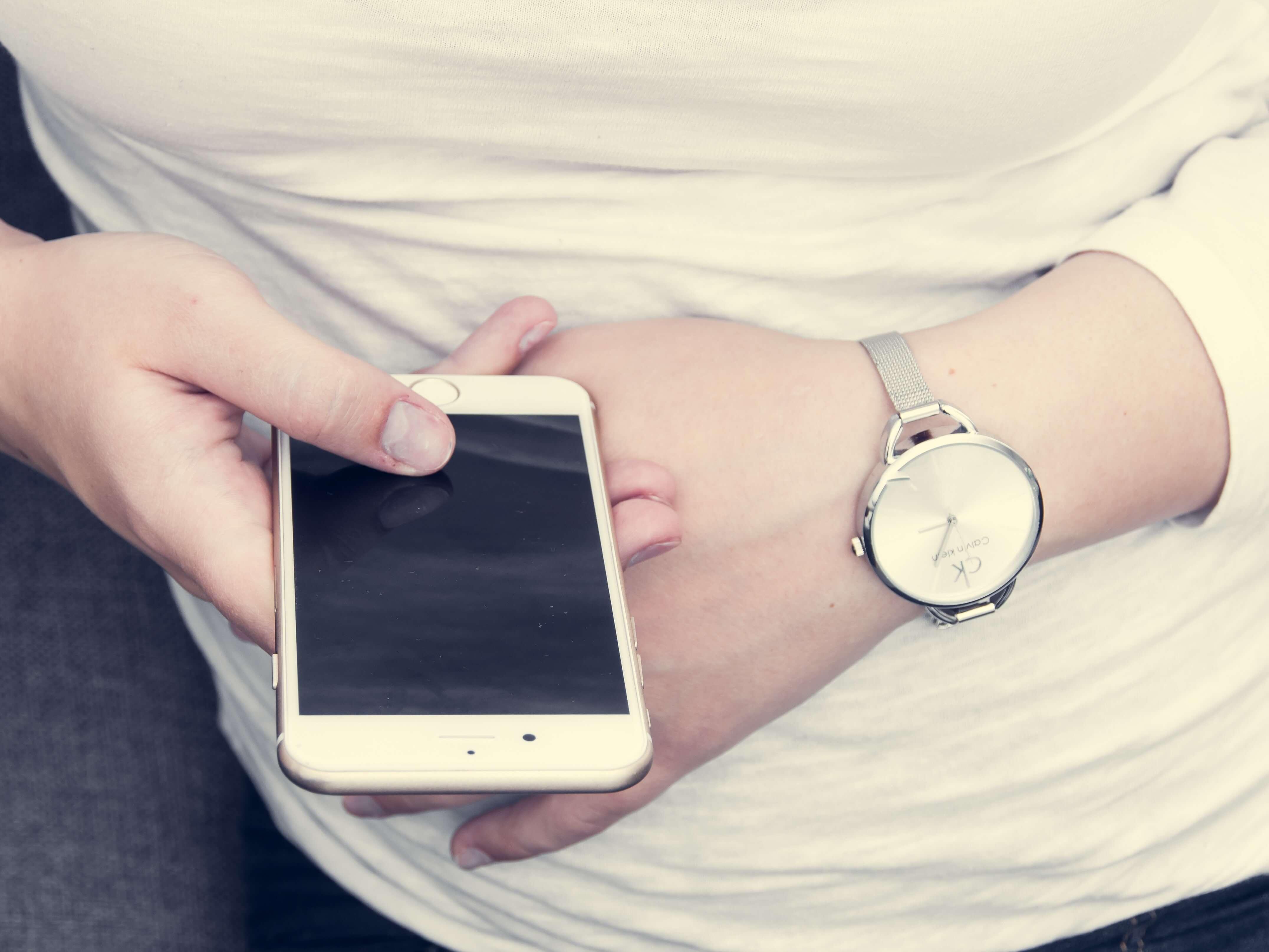White Dial Women's Watch