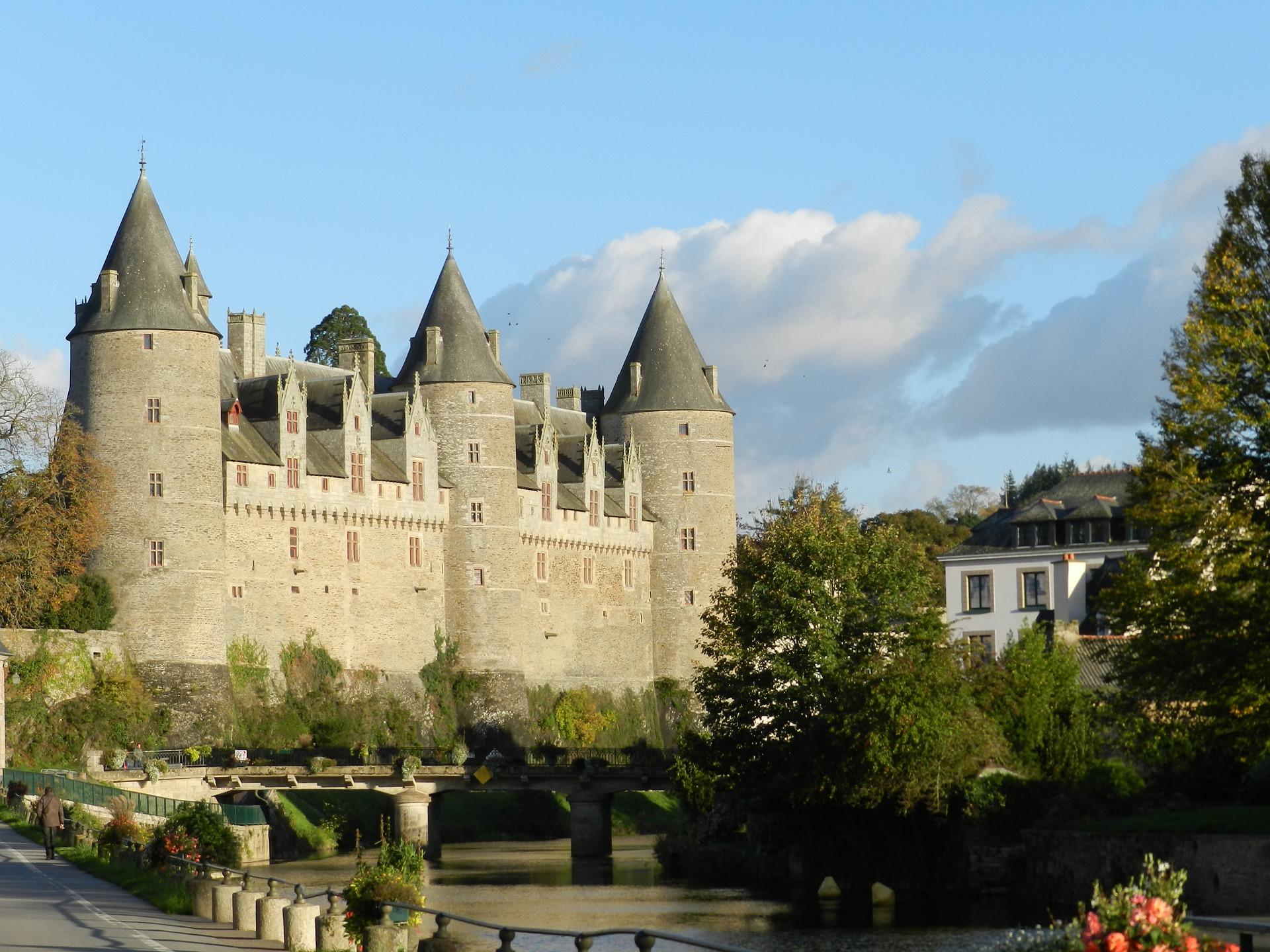 Josselin in Brittany