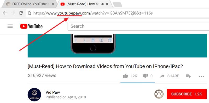 vidpaw-add-paw-behind-youtube