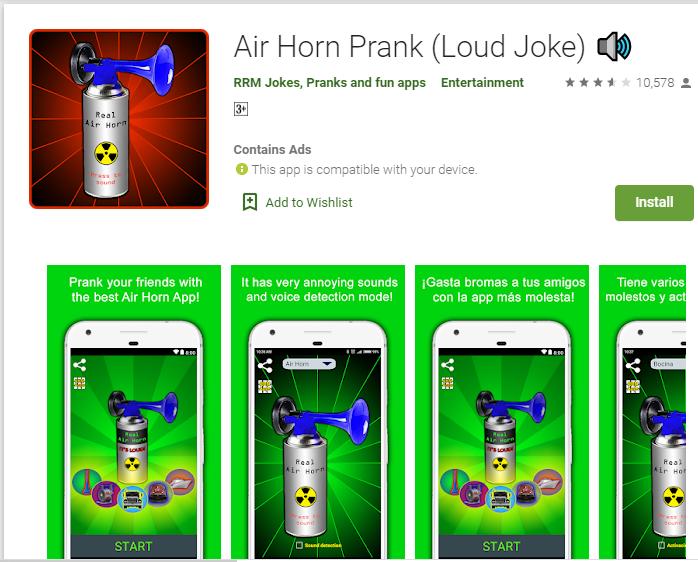 Air Horn Prank