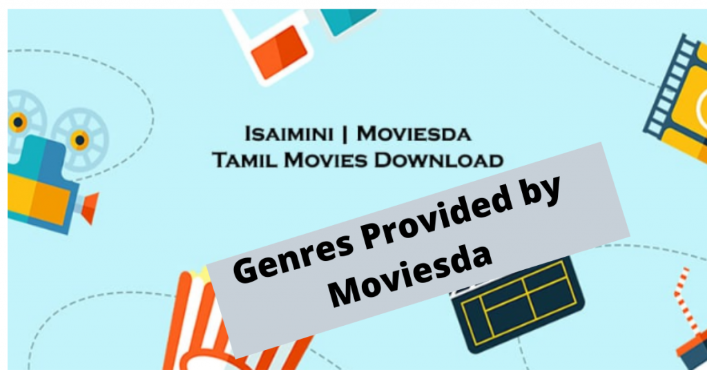 Genres which are Provided by Moviesda