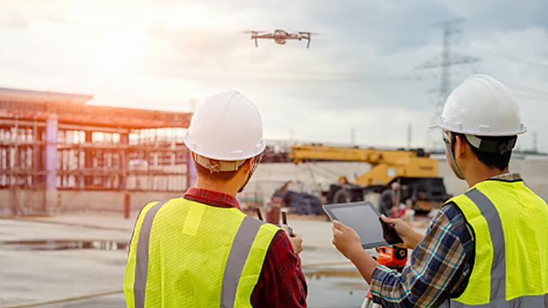 Building surveyor drone