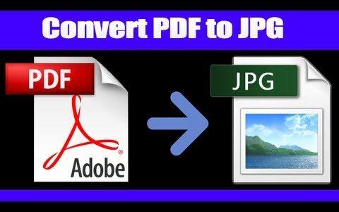 PDF To JPG