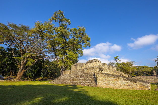Copan's Maya Ruins