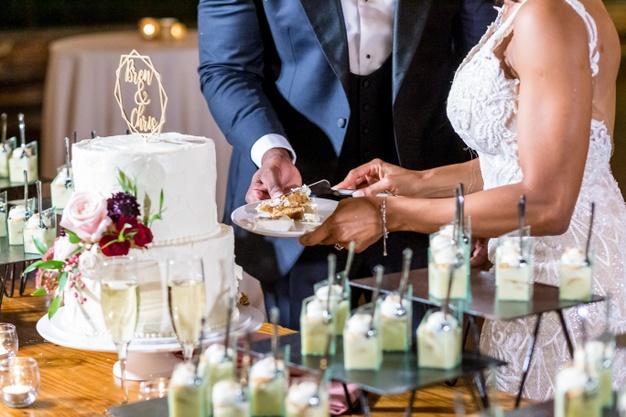 Non-Traditional Wedding Cake