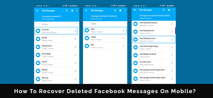 How To Recover Deleted Facebook Messages On Mobile