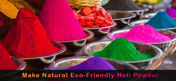 How To Make Natural Eco-Friendly Holi Powder At Your Home – Step By Step Guide