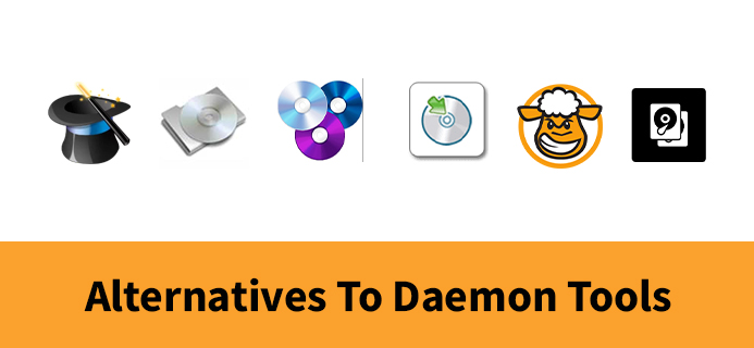 Alternatives To Daemon Tools