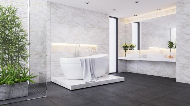 Invest in bathroom improvement