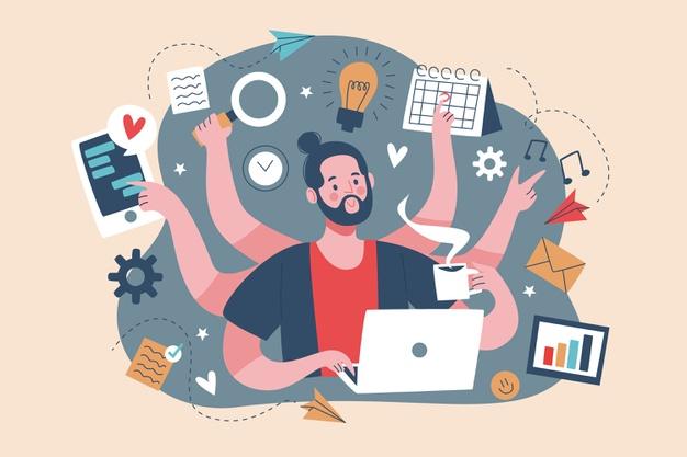 Avoid multitasking: