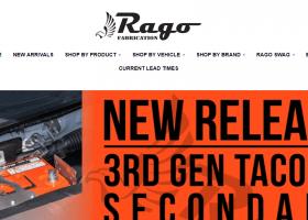 Rago Fabrication Website