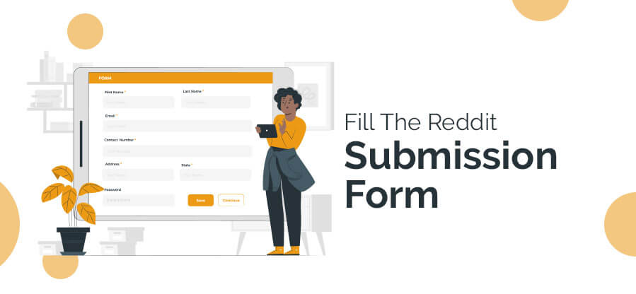 Fill The Reddit Submission Form