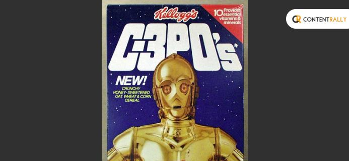 A Real Star Wars Based Breakfast Cereal Sold In The 1980