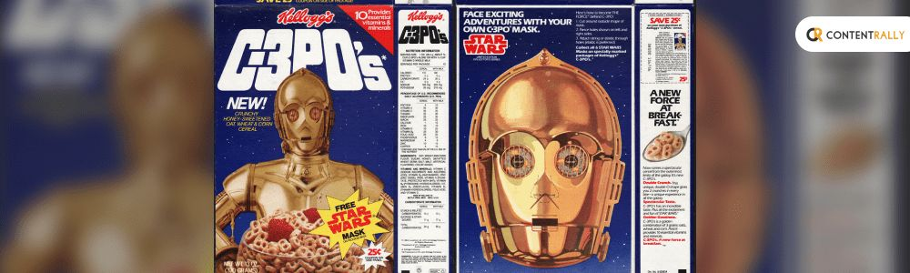 Which Was A Real Star Wars Based Breakfast Cereal Sold In The 1980s