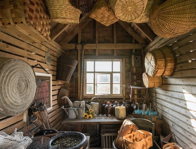 2. Wooden Sheds