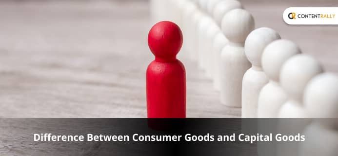 What Is The Basic Difference Between Consumer Goods And Capital Goods