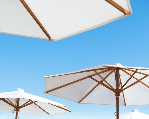 2. Don't forget a good beach umbrella