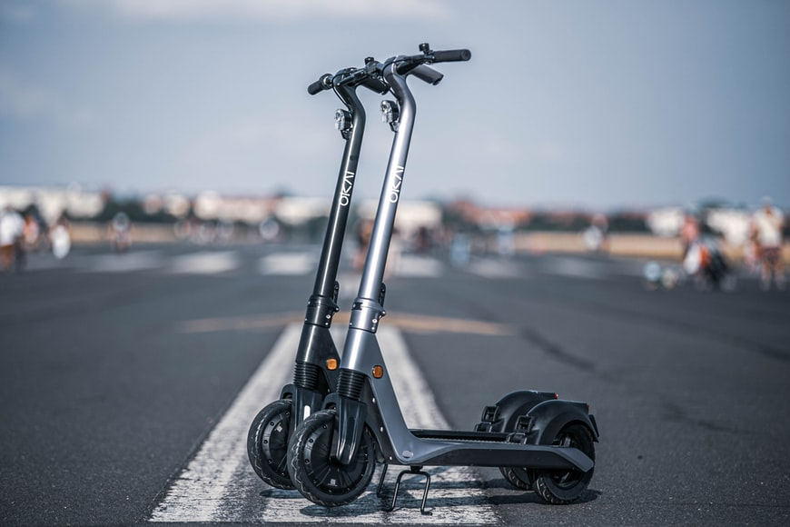3. Electric scooter as a great gift for those who are constantly on the go